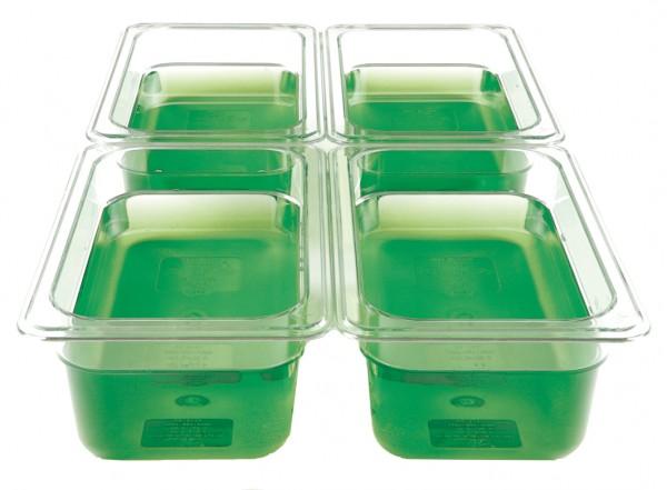 GN-Behälter Kunststoff 1/4 10 cm, 2,3 Liter