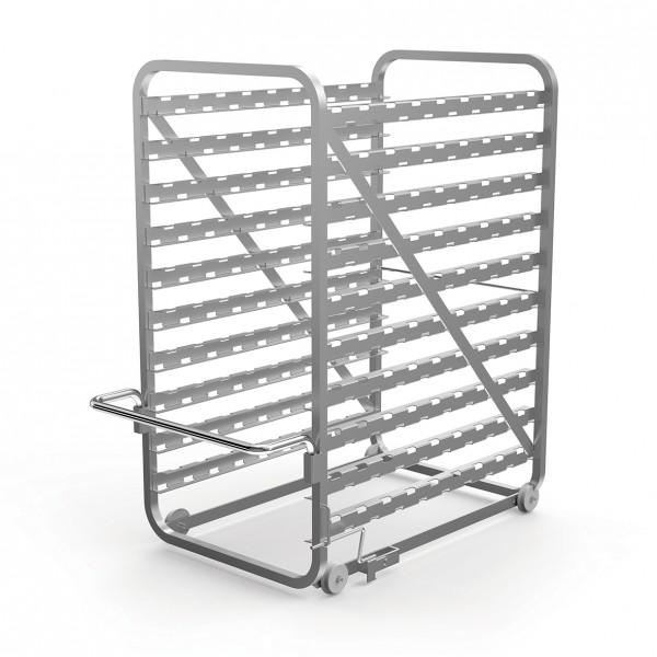Hordengestell mit Einfahrschiene verwenden Konditoreiausführung 5 x (600x400)