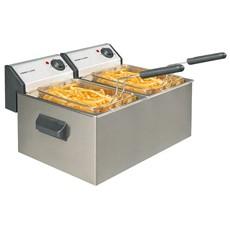 Neumärker Elektro-Fritteuse 2 x 5 Liter