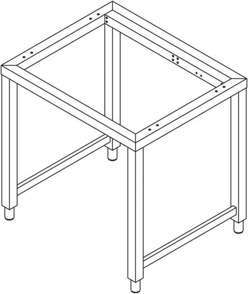 Untergestell für 7 x GN 1/1 Geräte
