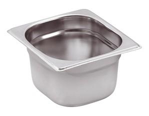 GN-Behälter Edelstahl 1/6 6,5 cm, 1 Liter