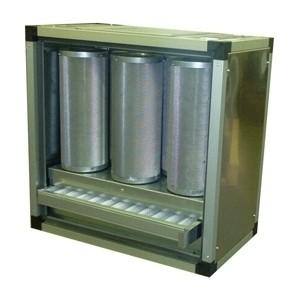 Abluftreinigungsanlage, ohne Motor, max. 2.500m³/h, für die Gastronomie.