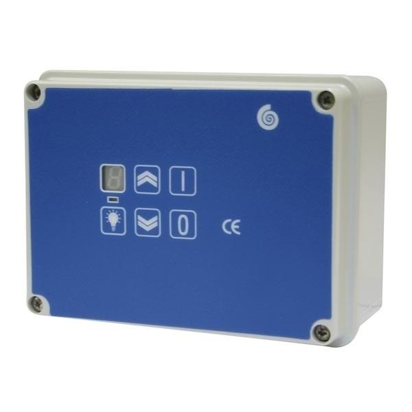 Drehzahlregler für Ventilatoren und Airboxen, 230V / 8,0 A, auch für Gas