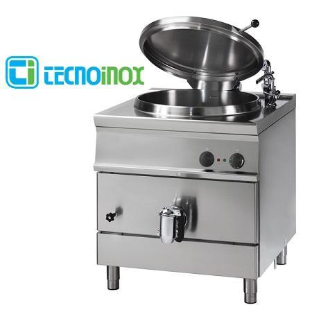 Kochkessel Tecnoinox 50 Liter P8IE7 Elektro-Schnellkochkessel