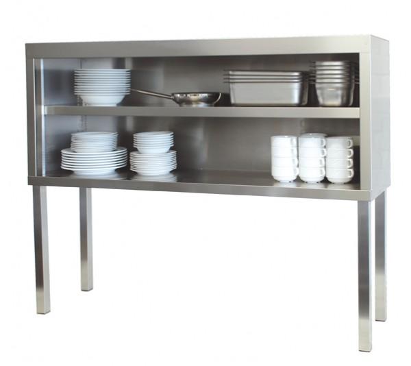 Edelstahl Tisch Aufsatzschrank 100 X 40 X 60 115 Cm Offen Fur Die Gastronomie Gastroxtrem Gastrotechnik Mit Herz Verstand