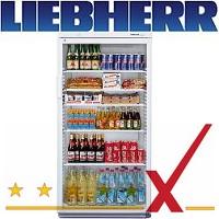 LIEBHERR Glastürkühlschränke