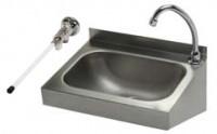 Handwaschbecken mit Kniebetätigung IP0032 40 x 32 cm