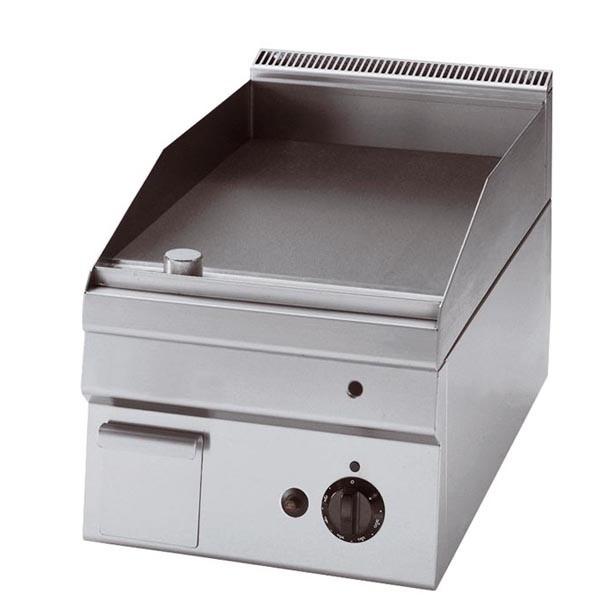 Tecnoinox Grillplatte, Gas, glatt, 4kW