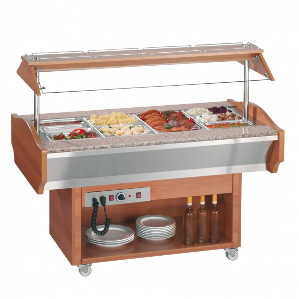 Gastro Wärme-Buffet HOT 4, Ecoline