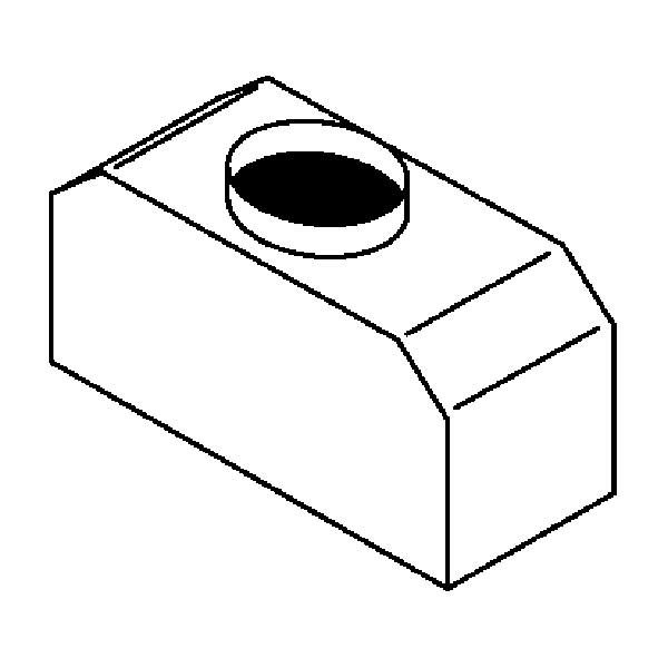 Rückstromsicherung passend für Gasmodelle 20xGN 1/1 LAINOX