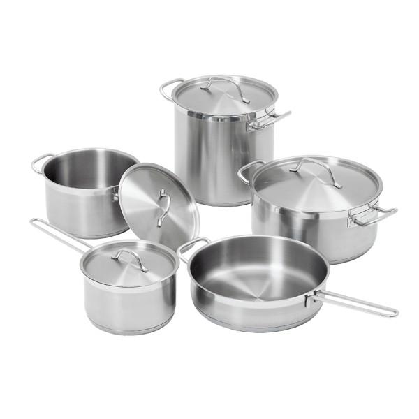 Bartscher Kochtopfset mit 9 Teilen - A130442
