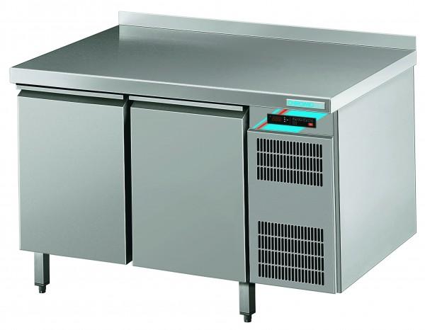 CHROMOfair / CHROMOnorm Kühltisch, 2 Türen, Voll-Edelstahl, Umluft für die Gastronomie