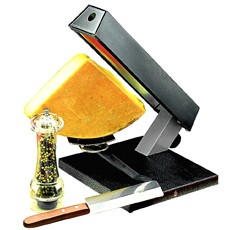 Neumärker Party-Raclette für viertel Käsestücke
