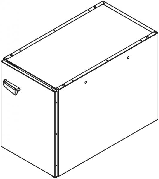 Teil - Unterschrank für Untergestell NSR072