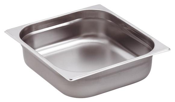 GN-Behälter Edelstahl 2/3 10 cm, 9 Liter