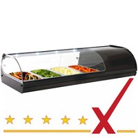 Sushi / Tapas Vitrine