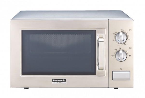 Gastronomie Edelstahl Mikrowelle Panasonic 22 ltr, NE-1027, 1000W