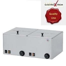 Wurstwärmer Quality-Line II 2 x GN 1/2