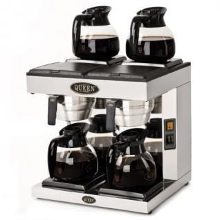 Coffee Queen Filterkaffeemaschine DM-4, 4 x 1,8 ltr, manuelle Befüllung, Gastro