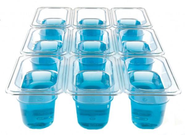 GN-Behälter Kunststoff 1/9 10 cm, 0,8 Liter