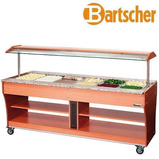 Bartscher 125623 Gastro Buffet Heiße Speisen 6x GN 1/1 Heiße Theke