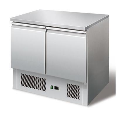 GastroXtrem Kühltisch Ecoline I, Edelstahl, Umluft für die Gastronomie