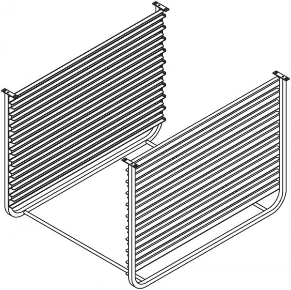 GN - Schienen 10 x 2/1 für Untergestell NSR072
