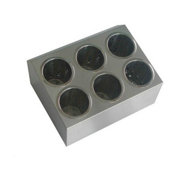Besteckbehälter mit 6 Besteckköcher