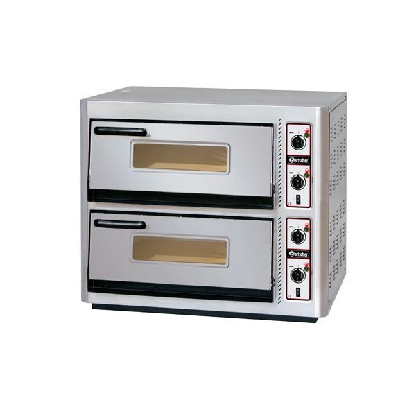 Bartscher Pizzaofen NT 622 für 2x4 Pizzen - 2002097