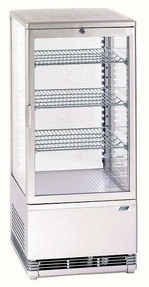 Tischkühlvitrine RT-78 LED (weiss)