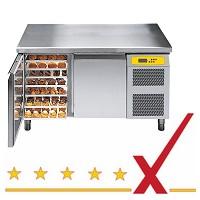 Bäckerei-Kühltische