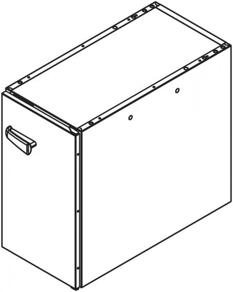 Teil - Unterschrank für Untergestell NSR071